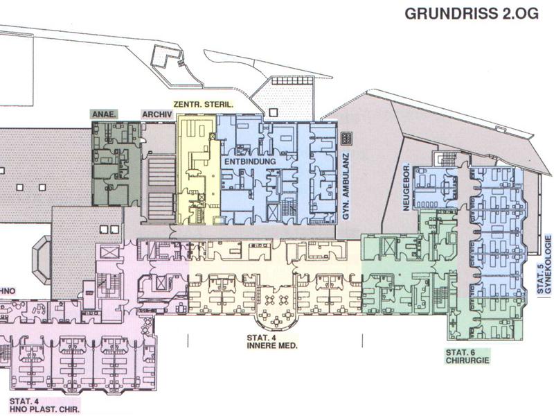 Krankenhaus Lindau   Architekturbüro Zuth + Zuth